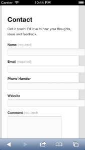 iOSSimulator35Retina_Wordpressform